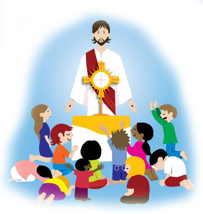 Image result for clip art Holy communion children